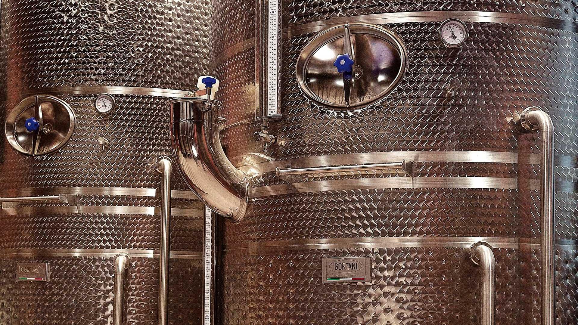 vinarija inox bure